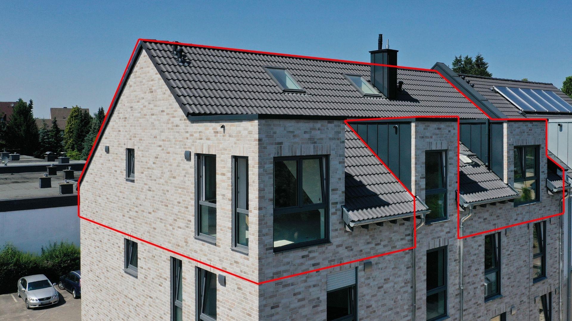 Lichtdurchflutete Dachgeschosswohnung im begehrten Köln Lindenthal