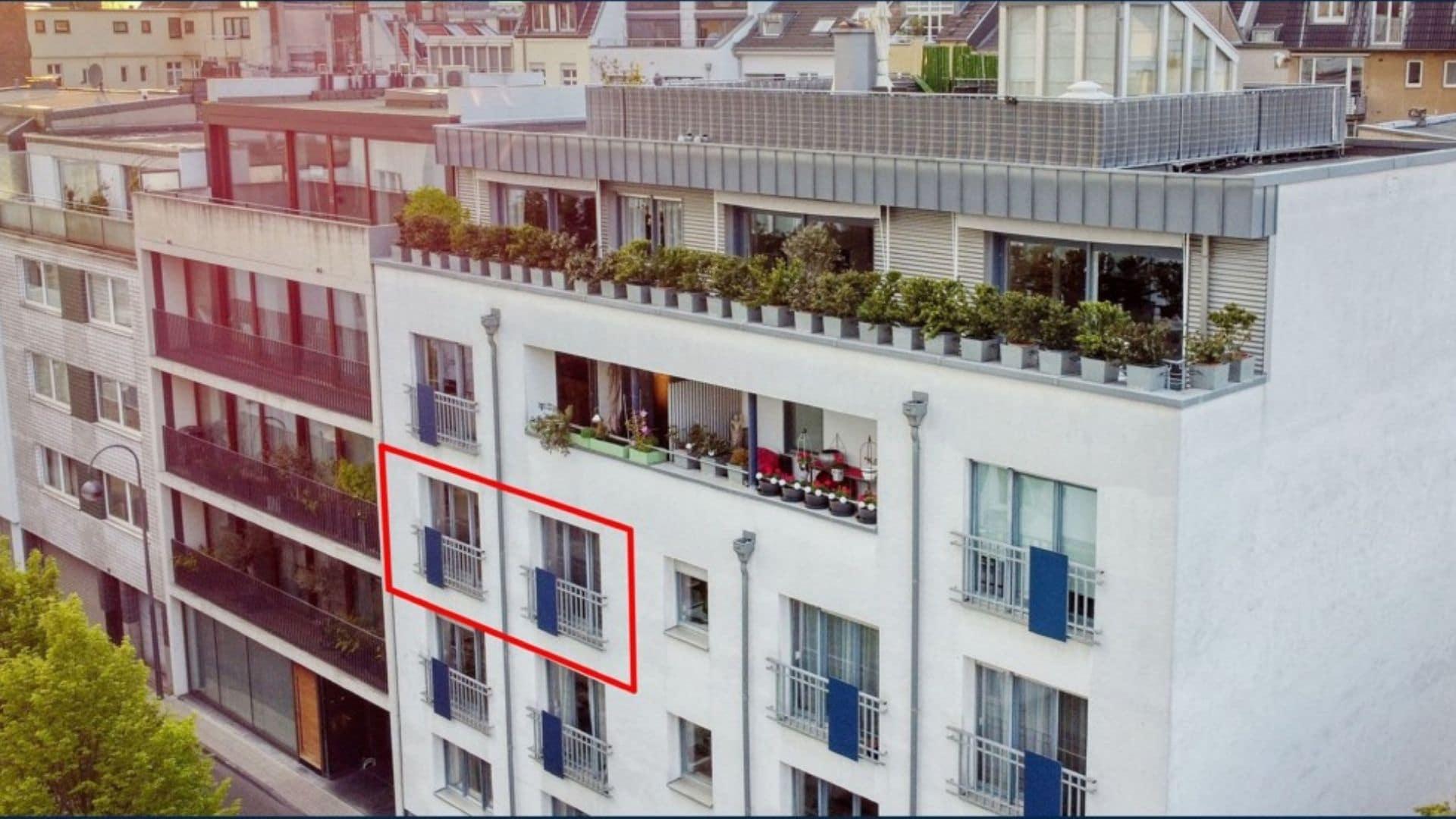 Mitten im Szeneviertel - moderne 2-Zimmer-Wohnung als attraktive Kapitalanlage